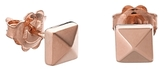 Chimento 18K Rose Gold Armillas Pyramis Collection Square Stud Earrings