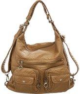 Laurel and Sunset Juniper Utilitarian Slouchy Shoulder Hobo Bag