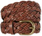 L.L. Bean Bean's Braided Leather Belt