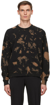 Cmmn Swdn Black and Brown Trek Bleached Sweatshirt