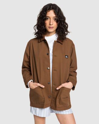 Quiksilver Womens Worker Corduroy Jacket