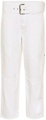 Proenza Schouler Cotton cropped pants