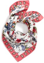 Tory Burch Women's Gabriella Square Silk Scarf