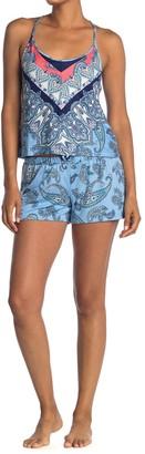 Jonquil Cami & Shorts 2-Piece Pajama Set