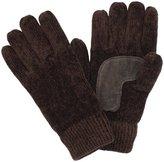 Isotoner Women's Chenille Palm Glove