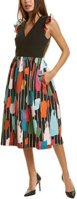 Crosby By Mollie Burch Kristin Midi Dress