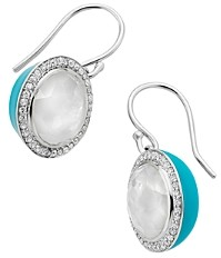 Ippolita Sterling Silver Lollipop Carnevale Mother-of-Pearl Doublet & Diamond Drop Earrings