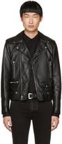 Saint Laurent Black Leather Blood Luster L01 Jacket