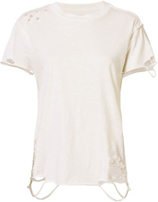 NSF Anderson Distressed Cotton T-Shirt