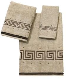 Avanti Pre Athena Embroidered Greek Key Bath Towel Bedding