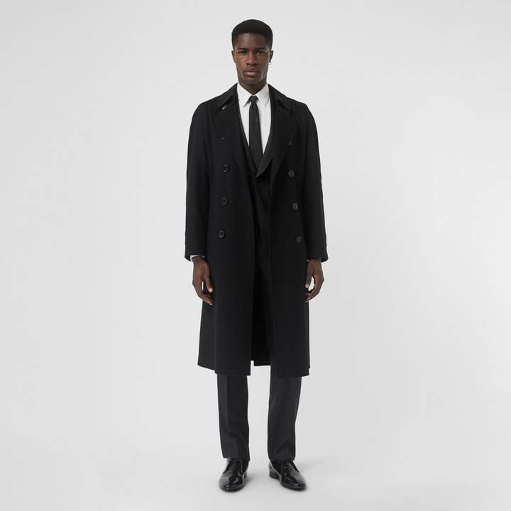 Burberry Double-faced Cashmere Trench Coat