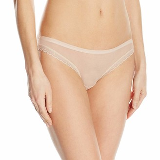 OnGossamer Women's Intimate Apparel Next to Nothing Mesh Low-Rise Bikini Panty