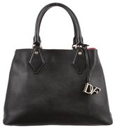 Diane von Furstenberg Pebbled Leather Satchel