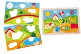 Hape Infant Sunny Valley 3-In-1 Puzzle