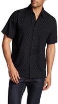 Toscano Square Print Silk Blend Shirt