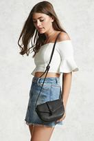 Forever 21 FOREVER 21+ Small Faux Leather Crossbody