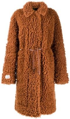 Stella McCartney Genesis Fur Free Fur coat