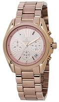 Burgmeister Women's ' Quartz and Stainless-Steel-Plated Casual Watch, Color:Rose Gold-Toned (Model: BM337-368)