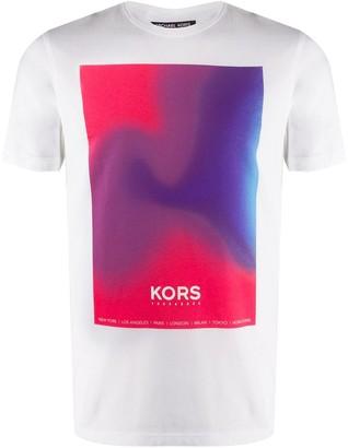 Michael Kors gradient logo T-shirt