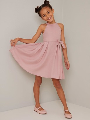 Chi Chi London Girls Adelie Dress - Mink