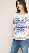 Esprit OUTLET lace print t-shirt