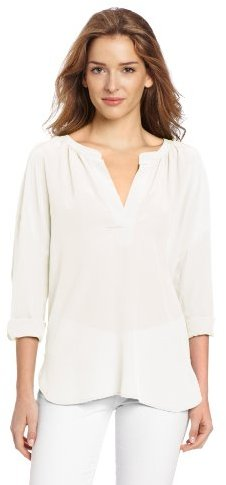 Vince Camuto Two by Women's Long Sleeve Split Neck Tunic