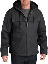 Dickies Men's Stretch Duck Hooded Jacket