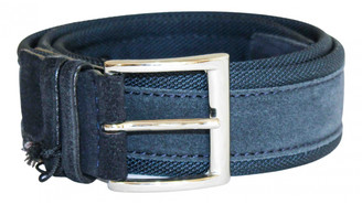 Orciani Blue Leather Belts