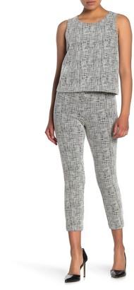 Amanda & Chelsea Textured Skinny Crop Pants (Petite)