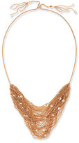Kendra Scott Anastasia Rose Golden Multi-Row Chain Necklace