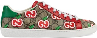Gucci Women's Ace sneaker with GG apple print