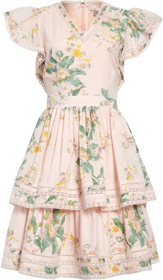Rachel Parcell Tiered Fit & Flare Dress