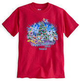 Disney Santa Mickey Mouse and Friends Holiday 2015 Tee for Kids - Disneyland