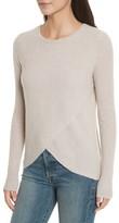 Autumn Cashmere Women's Cashmere Reversible Surplice Sweater