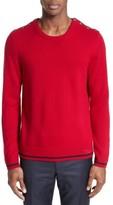 The Kooples Men's Shoulder Placket Sweater