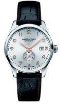 Hamilton Jazzmaster Maestro Small Second Auto Stainless Steel & Embossed Leather Strap Watch