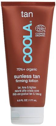 Coola Organic Gradual Sunless Tan Firming Lotion
