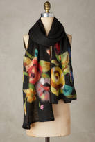 Anthropologie Painterly Scarf