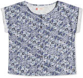 Roxy Geo-Print Cotton Shirt, Big Girls