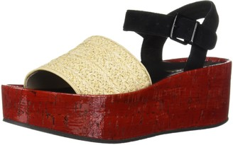 Kenneth Cole New York Women's Danton Platform Espadrille Sandal Wedge