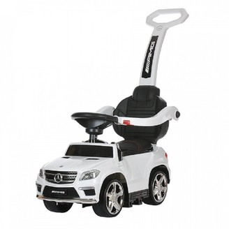 Best Ride on Cars 4-in-1 Mercedes Push Car White