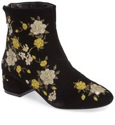 Topshop Blossom Embroidered Bootie