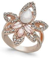 INC International Concepts I.N.C. Rose Gold-Tone Multi-Stone Statement Ring, Created for Macy's
