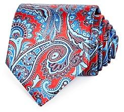 Ermenegildo Zegna Bold Paisley Silk Classic Tie
