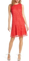 Sam Edelman Circle Lace Drop Waist Dress