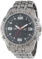 U.S. Polo Assn. Classic Men's US8496 Gunmetal-Tone Analog-Digital Watch