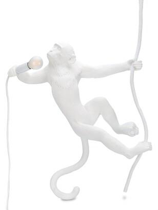 Seletti Monkey With Robe lamp