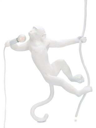 Seletti Monkey With Rope Lamp