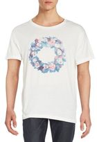 Gant Floral Wreath Graphic Tee