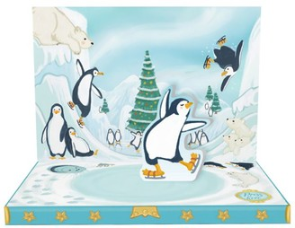 Music Box Cards Musical Penguin Christmas Card